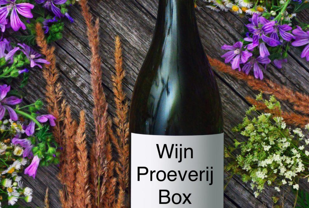 wijn proeverij box