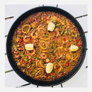 Paella met Saffraan
